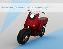 Reinterpret a Classic- 1952 Lambretta 125D
