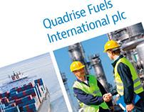 Quadrise Fuels: annual report design