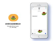 Avocado Sticker Pack