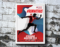 Hyderabad Runners Poster Design