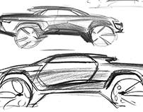 Chevrolet SUT Sketches
