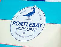 Portlebay Popcorn | Packaging & Branding