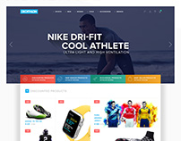 Decathlon Web Interface Re-Design Concept