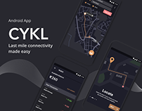 CYKL - Cycle renting app Android