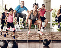 24 Hour Fitness Master Brand Shoot Imagery