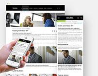 Deloitterecrute.fr — New corporate recruitment UI/UX