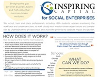 Business One-Pager for an MBA Fellowship Program