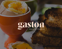 GASTON - BRAND IDENTITY