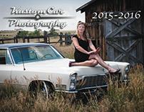 2015-2016 Kustom Car Photography Pinup Calendar