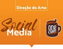 \\Direção de Arte// Social Media - OneCoffee