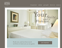 Website design for Condotta Suite 14, Florence