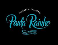 Logotipo Paula Rainho - Produção Culinária