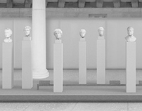 New exhibition space of the Stoa of Attalos