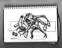 Sketchbook Robots