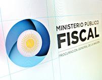 Ministerio Público Fiscal: Logo 20th Anniversary
