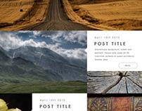 Wander Wordpress Theme