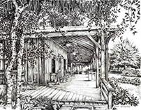 Quail Creek Plantation Front Porch