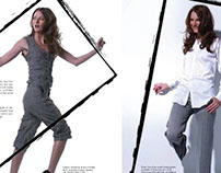 Fashion Photo Art Direction & Layout from New You Mag