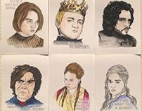 Game of Thrones Postcard Set