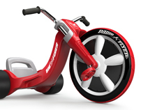 3D Radio Flyer Big Wheel