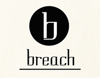 Breach (Typeface Release Poster)