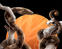 Wild Scales - Illustration
