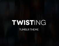Twisting - Tumblr Theme