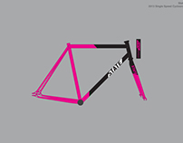 2014 State Bicycle Company Single Speed CX Frame Decal