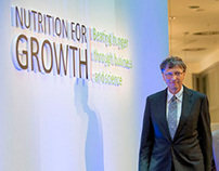 Nutrition for Growth campaign branding