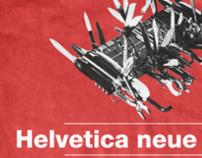 TYPE SHIRT: HELVETICA NEUE HEAVY