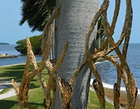 Deering Estate Installation 2014: Miami Vine by Stecca