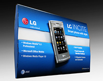 Product Photography - LG Incite Display