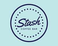 Identity for Stash Coffee Bar