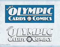 LOGO DESIGN: Olympic Cards & Comics, Lacey WA