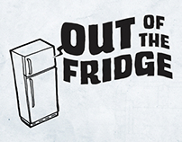 LOGO DESIGN: Out of the Fridge Comics Podcast