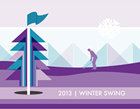 2013 NB|AZ Winter Swing Event logo and Collateral