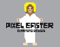 Easter Pixel Character Design  - Jesus