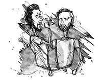 Jornal de Barcelos ~ ilustrações