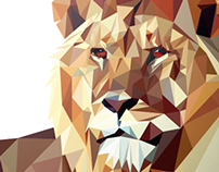 Poly Lion Design