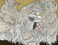Barong Illustration