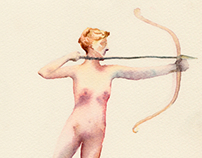 """Diana""     Augustus Saint-Gaudens"