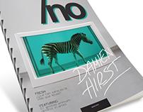 Editorial Design (faux magazine).