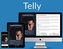 Telly - Responsive Resume & Portfolio Template