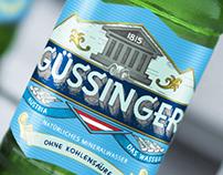 Güssinger. Das wasser. Austria.