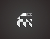 Logo for Faceless Music Label