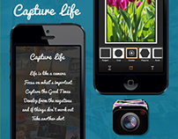 Capture Life Camera iPhone App