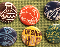 National Park Buttons