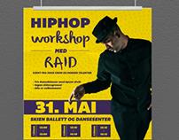 Poster - hiphop workshop