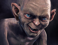 Digital painting -  Lord of The Rings