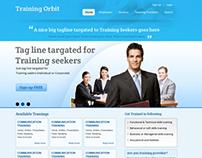 Training Orbit Website UI/UX